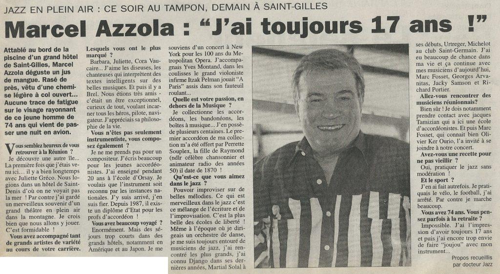 Le journal de l'Ile - 2001