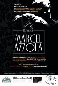 Les Artistes CAVAGNOLO - Hommage Marcel Azzola @ Théâtre de Chatel-Guyon