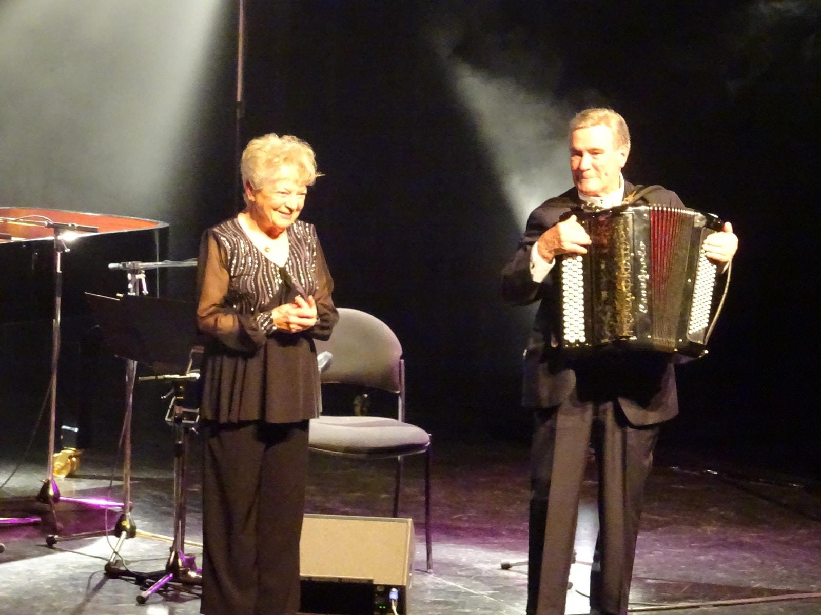 Lina Bossatti concert ovation