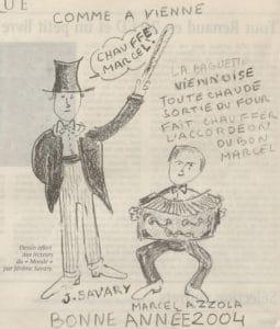 Article Le Monde Ne tirez pas sur l'accordéoniste