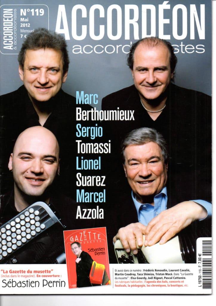 Interview Marcel Azzola, Marc Berthomieux, Sergio Tomassi, Lionel Suarez