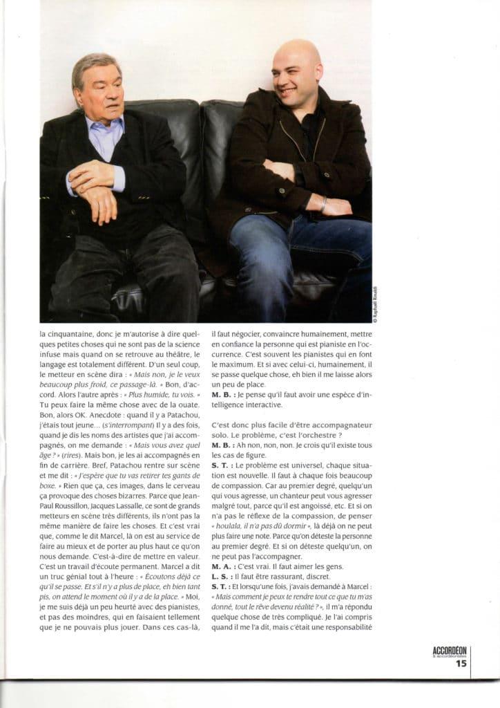 interview Marcel Azzola accordéon accordéonistes n°119 page 6