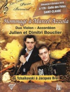 Hommage à Marcel AZZOLA - Concert à SAINT-CLAUDE