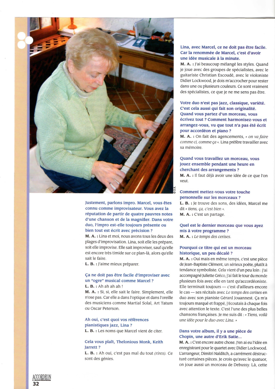 Page 3 MARCEL AZZOLA et LINA BOSSATTI